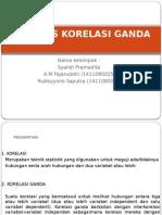 Analisis Korelasi Ganda