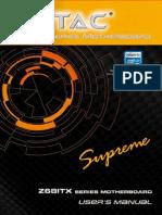 ZOTAC Z68-ITX WiFi Supreme Manual - pa186