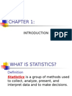 Statistics Lecture Introduction