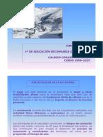 CURSO DE ESQUÍ 2009-2010 3º ESO
