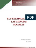 LOS PARADIGMAS EN LAS CIENCIAS SOCIALES