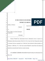 Flocken v. City Of Mesa - Document No. 9