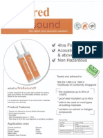 Assure Fire & Sound Sealant