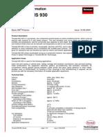 Sealant - Terostat MS930 TechData