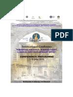 Program Conferinta