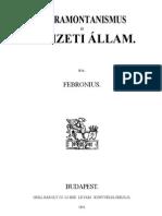 Febronius - Ultramontanizmus