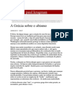 Paul Krugman_a Grécia Sobre o Abismo