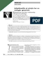 Dislipidemia Si Relatia Cu Patologia Generala
