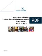 Professional Growth Plan Handbook Ach First 17JAN2013