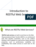 Introduction to RESTful Web Services - SpringPeople