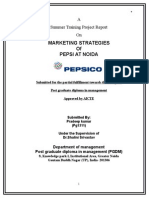 MARKETING STRATEGIES Pepsi Noida.docx
