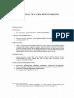 List of OECD Disciplines