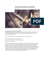 070915 Subcontract Provisions