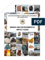 Mining and Environmental Impact Guide