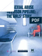 Sexual-Abuse History of Girls in Prison System
