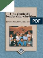 Etude Du Leader Chrétien