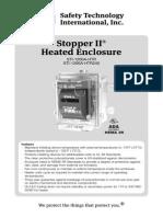 STI 1200A-HTR Instruction Manual