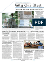 The Daily Tar Heel for July 9, 2015