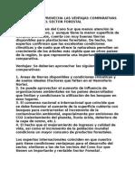 Sector Forestal - Ventajas Comparativas Carlstein 190813
