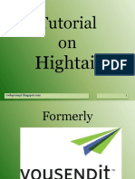 Tutorial Hightail