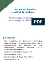 Fármacos Que Actúan Sobre Receptores de Membrana