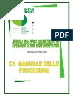 C-1 Manuale Delle Procedure