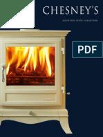 Chesney's Stoves Brochure | Firecrest Stoves