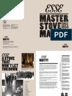 Esse Stoves Brochure | Firecrest Stoves