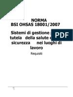 Bsi 18001 2007 Italiano