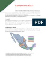 Cancer Infantil en Mexico