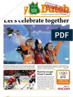 The Daily Dutch International #9 from Vancouver | 02/19/10