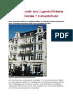 Die Gründerzeit- und Jugendstilhäuser der Alster-Terrain in Harvestehude