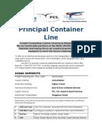 Principal Container Line
