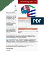 Conflicto Estados Unidos y Cuba
