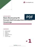 Korean Self Introduction and Basic Greetings.pdf