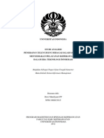 Studi Analisis Telenursing Dewi Murdiyanti PP Peminatan KMB