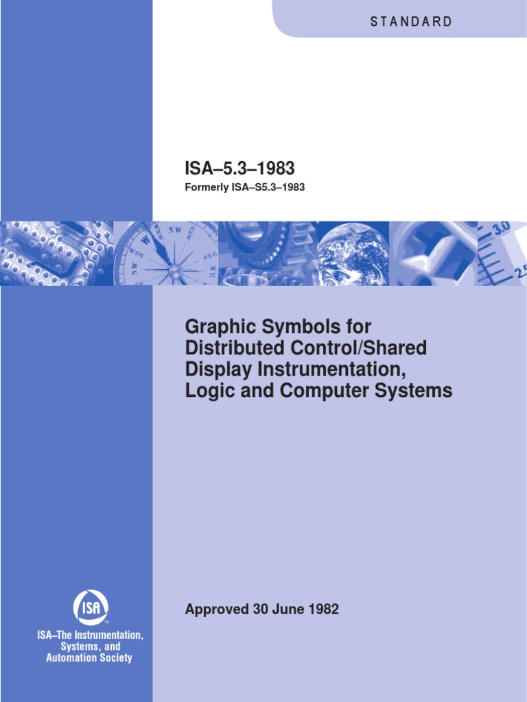 isa 5 3 1983 instrumentation programmable logic controller rh scribd com Logic Flow Diagram Control Logic Diagram