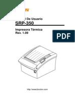 Srp-350 User Spanish Rev 1 09