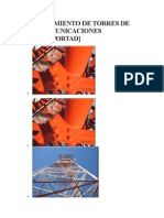 Mantenimiento de Torres de Telecomunicaciones