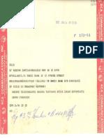 Telegrama 1957 Ene. 14 Santiago de Chile a Doris Dana Roslyn Harbour New York