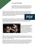 Onde Assistir MMA E Lutas UFC Online
