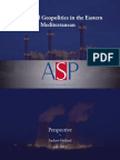 Energy and Geopolitics in the Eastern Mediterannean