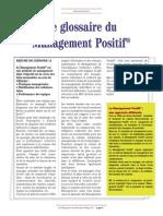 Article Management Positif - Visite Actuelle Management Février 2011