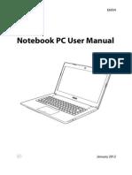 Manual Asus N46V