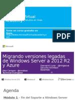 Migrando Versiones Legadas de Windows Server - Modulo 1