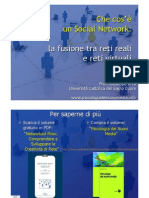 Che cos'è un Social Network v