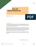 Anestesia Em Odontopediatria