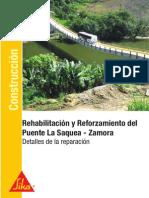 Reforzamiento Puente La Saquea