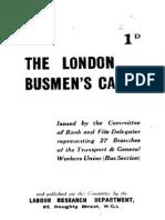 The London Busmen's Case 1930