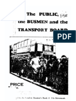 Busman's Punch 1935 Pamphlet